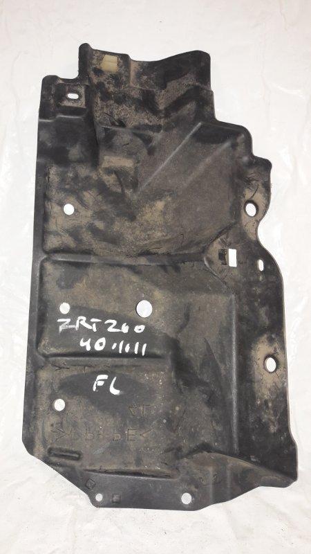 Защита двигателя Toyota Premio ZRT260 2ZR-FE передняя левая (б/у)
