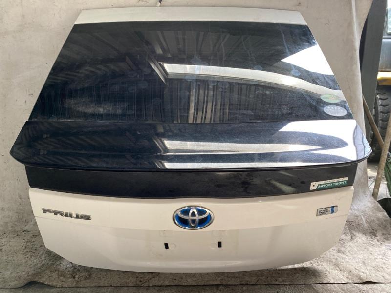 Дверь задняя Toyota Prius ZVW30 2ZR-FXE 2013.02 (б/у)
