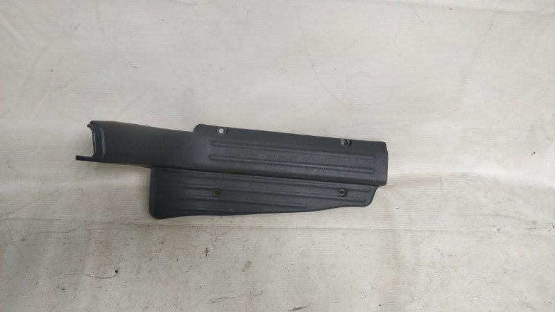 Накладка на порог салона Mitsubishi Pajero V44W задняя правая (б/у)