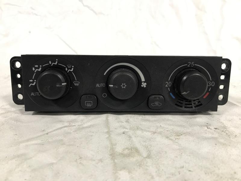 Блок управления климат-контролем Mitsubishi Pajero V78W (б/у)
