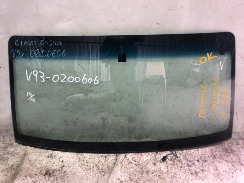 Стекло лобовое Mitsubishi Pajero V93W 6G72 2009.04 переднее (б/у)