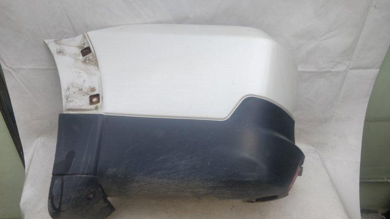 Клык бампера Mitsubishi Pajero V93W 6G72 2009.04 задний левый (б/у)