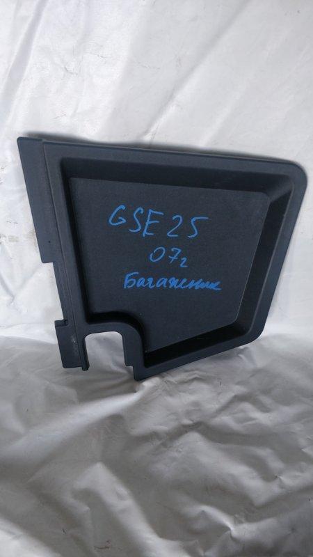 Ящик в багажник Lexus Is250 GSE25 4GR 2007 правый (б/у)