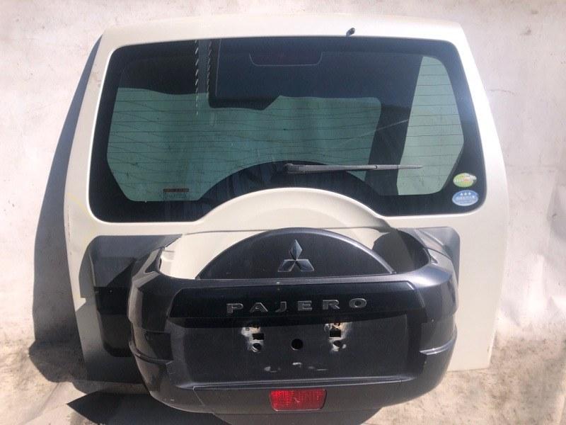 Дверь задняя Mitsubishi Pajero V93W 6G72 2009.04 задняя (б/у)