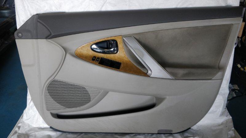 Обшивка дверей Toyota Camry ACV40 2AZ-FE 2006 передняя правая (б/у)