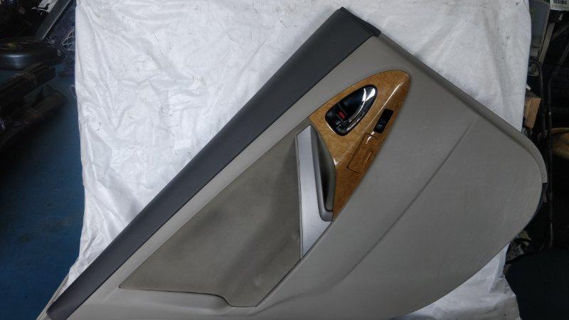 Обшивка дверей Toyota Camry ACV40 2AZ-FE 2006 задняя левая (б/у)