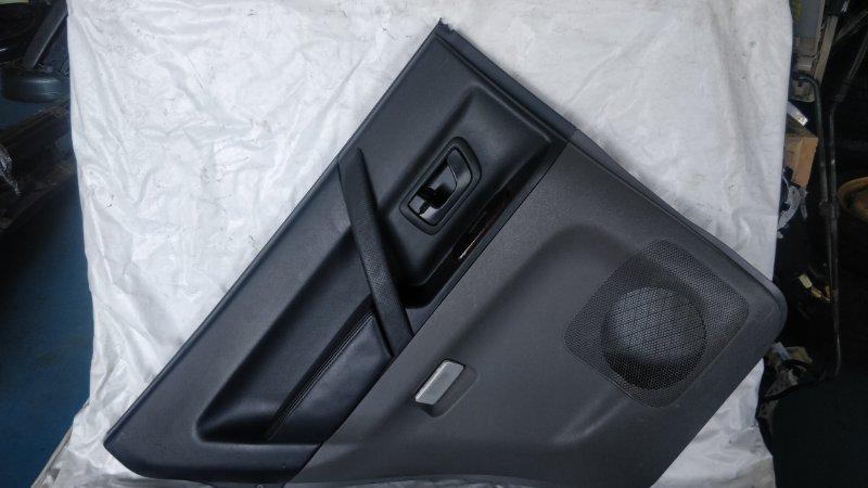 Обшивка дверей Mitsubishi Pajero V75W 6G74 2000 задняя левая (б/у)