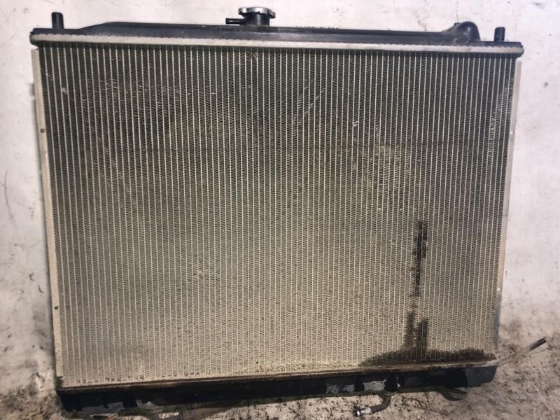 Радиатор двс Mitsubishi Pajero V93W 6G72 2009.04 (б/у)