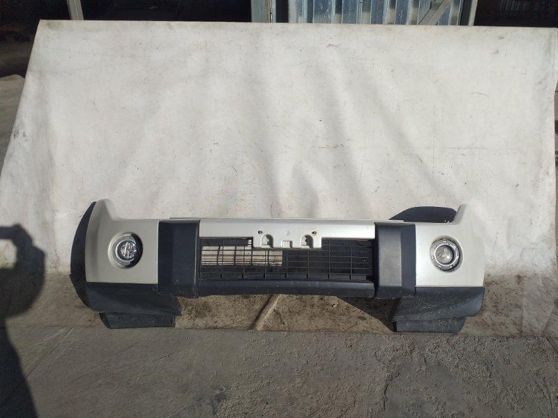 Бампер Mitsubishi Pajero V93W 6G72 2009.04 передний (б/у)