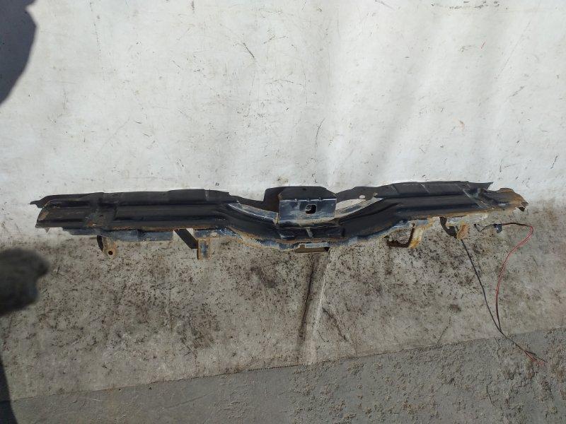 Жесткость бампера Mitsubishi Pajero V93W 6G72 2009.04 задний (б/у)