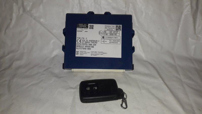 Блок управления электронным ключом Toyota Prius ZVW30 2ZR-FXE 2013.06 (б/у)