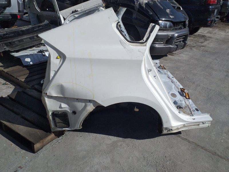 Крыло Toyota Prius ZVW30 2ZR-FXE 2013.02 заднее правое (б/у)