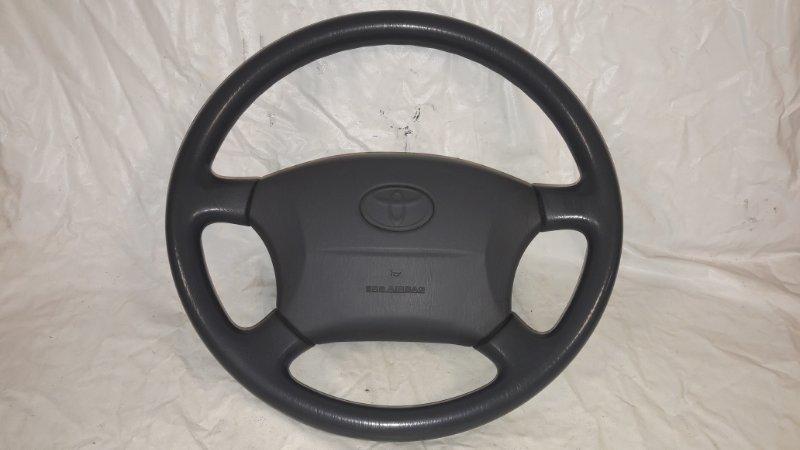 Руль Toyota Land Cruiser Prado KDJ95 1KD 2001.06 (б/у)
