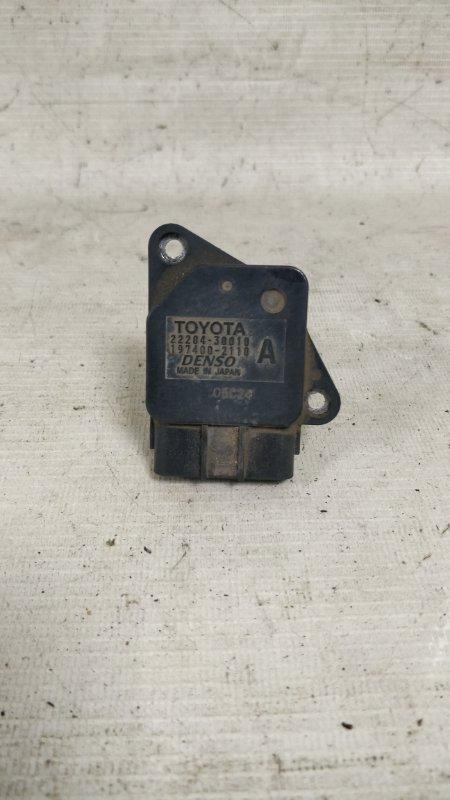 Датчик расхода воздуха Toyota Land Cruiser Prado KDJ95 1KD 2001.06 (б/у)