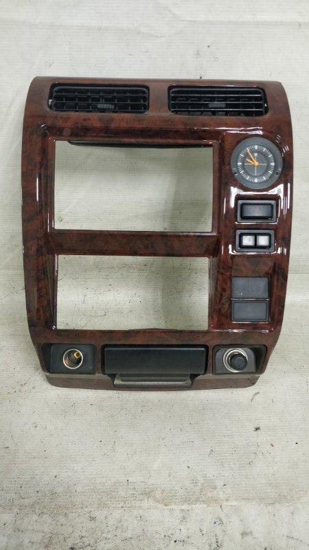 Консоль магнитофона Toyota Land Cruiser Prado KDJ95 1KD 2001.06 (б/у)