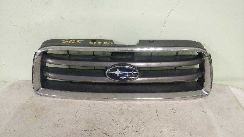 Решетка радиатора Subaru Forester SG5 EJ205 2002.12 (б/у)