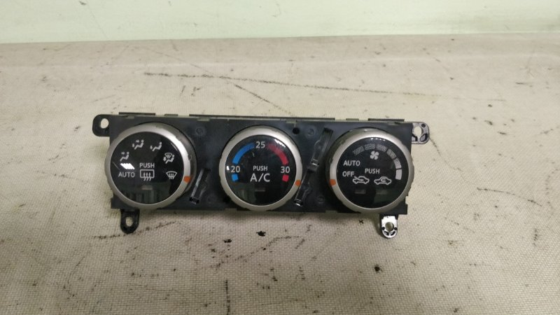 Блок управления климат-контролем Nissan Wingroad WHNY11 QG18DE 2003 (б/у)