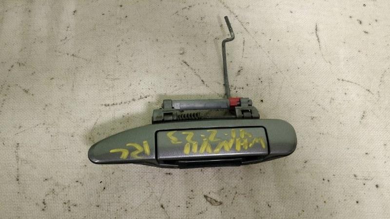 Ручка двери Nissan Wingroad WHNY11 QG18DE 2003 задняя левая (б/у)