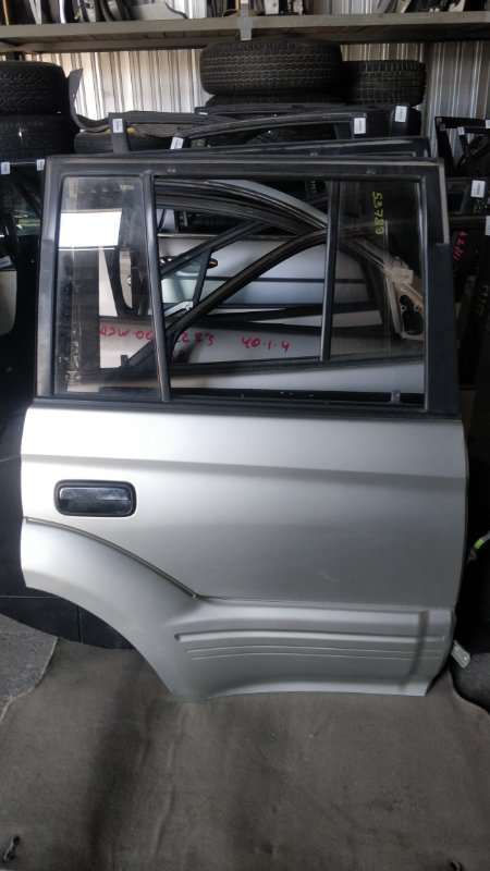 Дверь боковая Toyota Land Cruiser Prado KDJ95 1KD 2001.06 задняя правая (б/у)