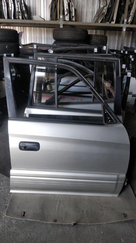 Дверь боковая Toyota Land Cruiser Prado KDJ95 1KD 2001.06 передняя правая (б/у)