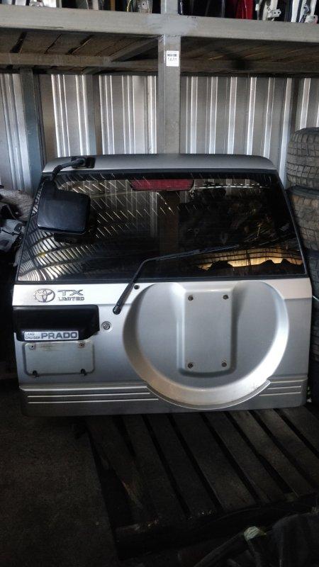 Дверь задняя Toyota Land Cruiser Prado KDJ95 1KD 2001.06 (б/у)