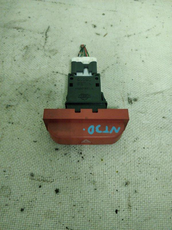 Кнопка аварийной сигнализации Nissan X-Trail NT30 QR20DE (б/у)