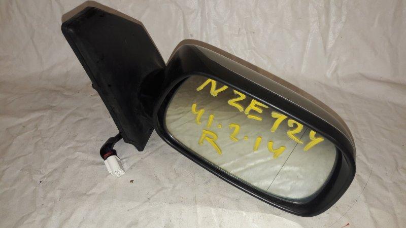 Зеркало Toyota Corolla NZE124 1NZ-FE переднее правое (б/у)