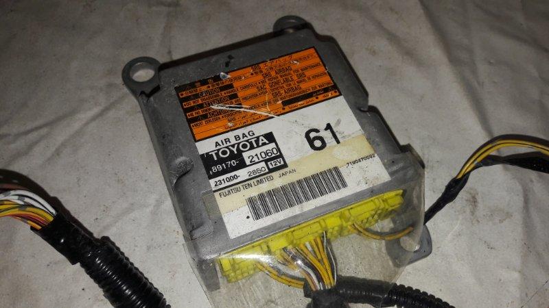 Блок управления airbag Toyota Caldina ST246 3S-GTE (б/у)