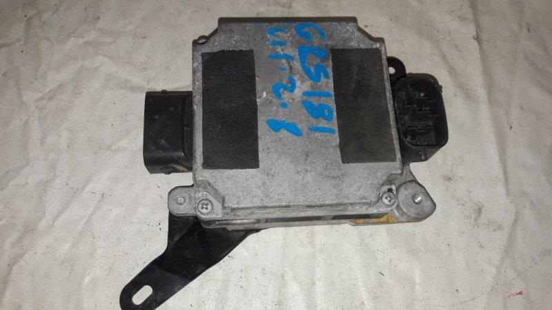 Блок управления рулевой рейкой Toyota Crown GRS181 4GR-FSE (б/у)