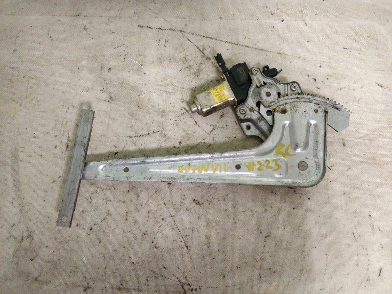 Стеклоподъемник Nissan Wingroad WHNY11 QG18DE 2003 задний левый (б/у)