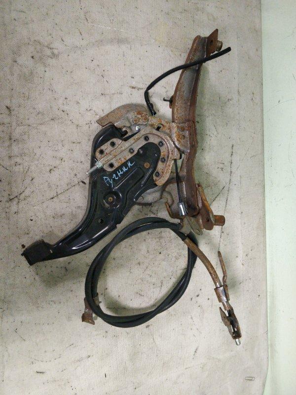 Тросик ручника Nissan Tiida Latio SNC11 HR15DE 10.2008 (б/у)