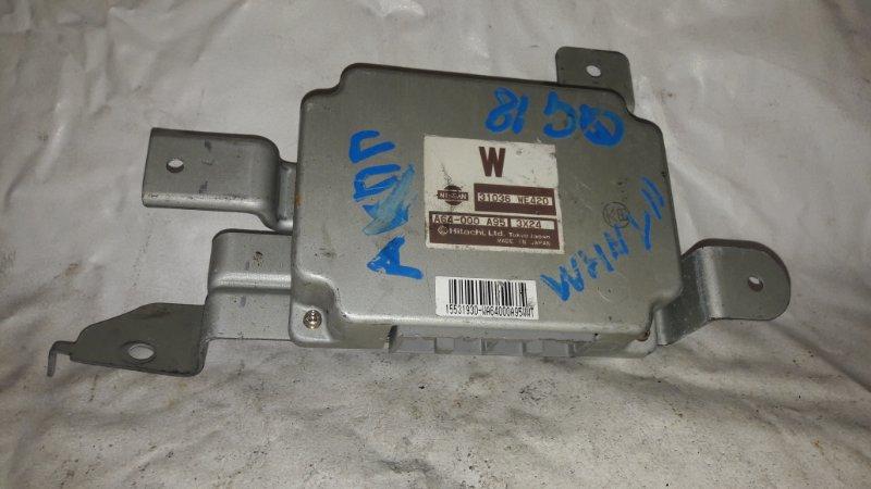Блок управления акпп Nissan Wingroad WHNY11 QG18DE (б/у)