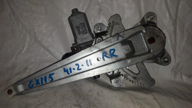 Стеклоподъемник Toyota Mark Ii GX115 задний правый (б/у)