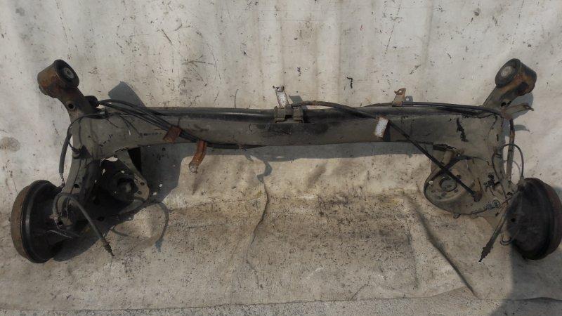 Балка подвески Honda Insight ZE2 задняя (б/у)