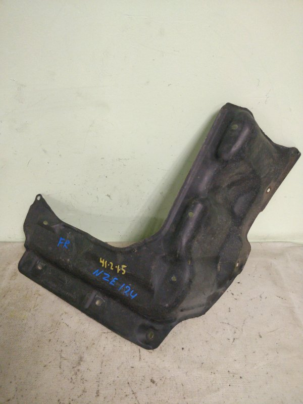 Защита двигателя Toyota Corolla NZE124 1NZ-FE 2002 передняя правая (б/у)