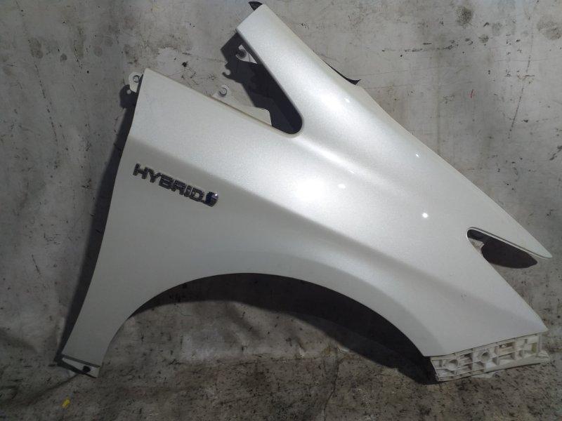 Крыло Toyota Prius ZVW30 2ZR-FXE 2012 переднее правое (б/у)