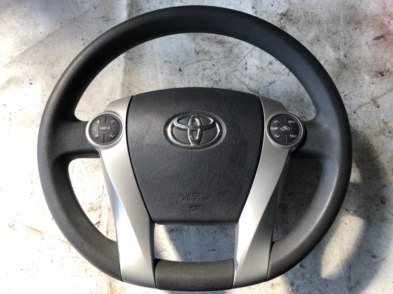 Руль Toyota Prius ZVW30 2ZR-FXE 2012 (б/у)