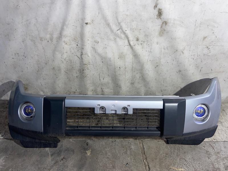 Бампер Mitsubishi Pajero V93W 6G72 2009 передний (б/у)