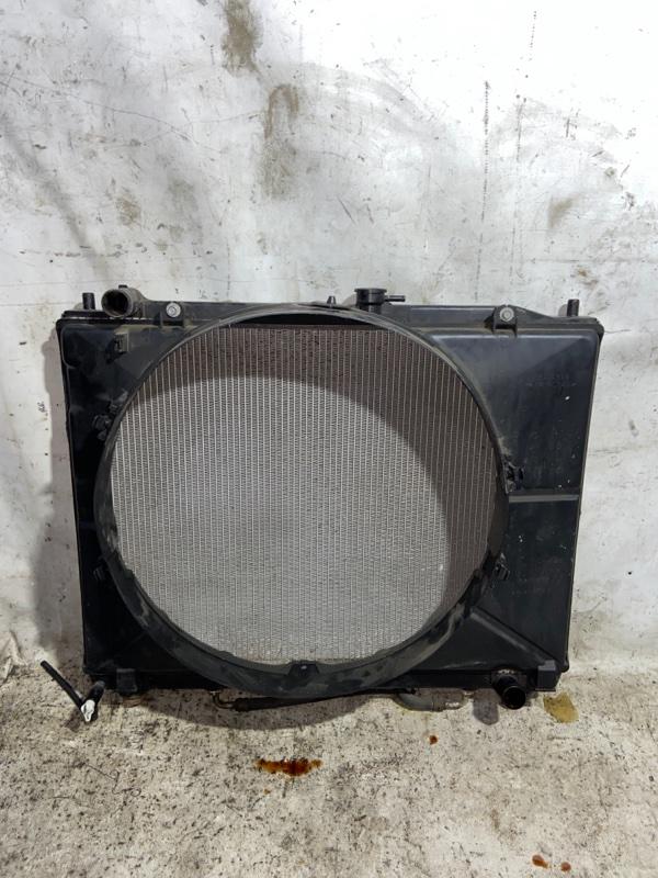 Радиатор двс Mitsubishi Pajero V93W 6G72 2009 (б/у)