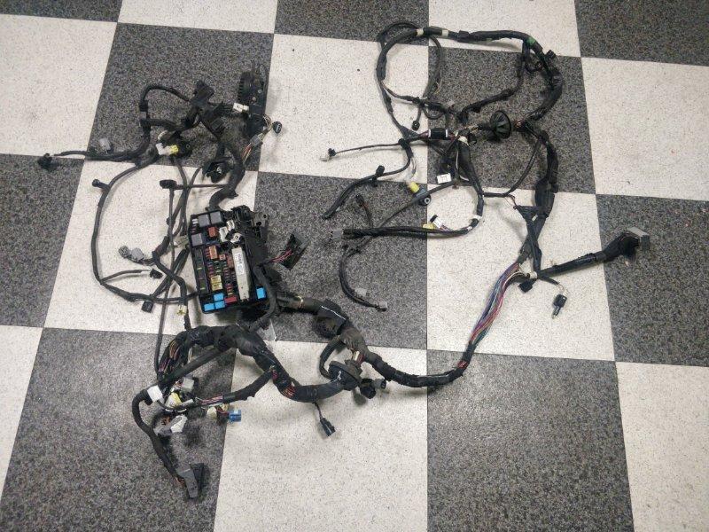 Электропроводка моторного отсека Toyota Prius ZVW30 2ZR-FXE 2012 (б/у)