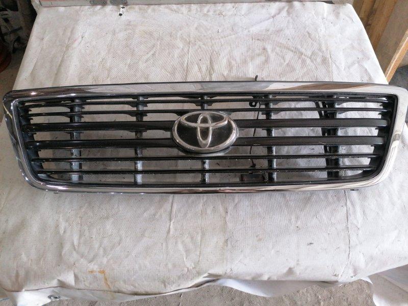 Решетка радиатора Toyota Land Cruiser Cygnus UZJ100 2UZ-FE (б/у)