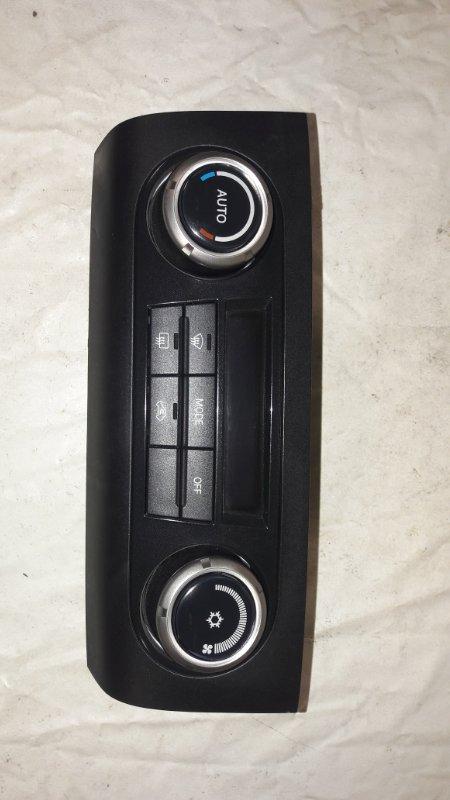Блок управления климат-контролем Mitsubishi Pajero V93W 6G72 2009 (б/у)