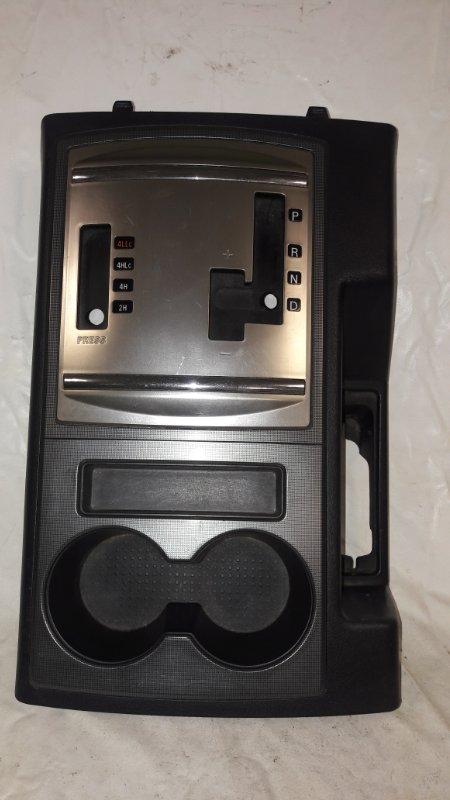 Консоль кпп Mitsubishi Pajero V93W 6G72 2009 (б/у)