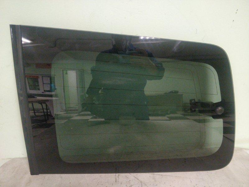 Стекло багажника Mitsubishi Pajero V93W 6G72 2009 заднее левое (б/у)