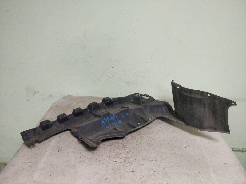Защита двигателя Toyota Noah AZR65 1AZ-FSE передняя правая (б/у)