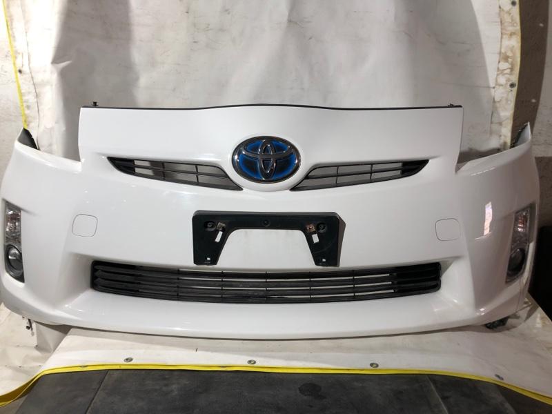 Бампер Toyota Prius ZVW30 2ZRFXE 2010.07 передний (б/у)