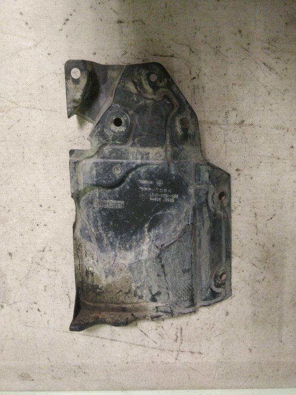 Защита двигателя Nissan X-Trail NT31 MR20DE передняя левая (б/у)