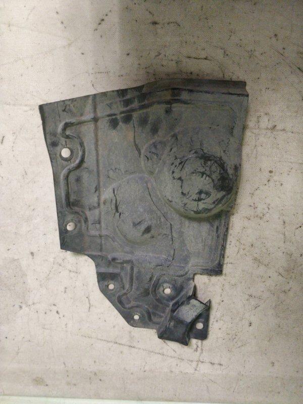 Защита двигателя Nissan X-Trail NT31 MR20DE передняя правая (б/у)