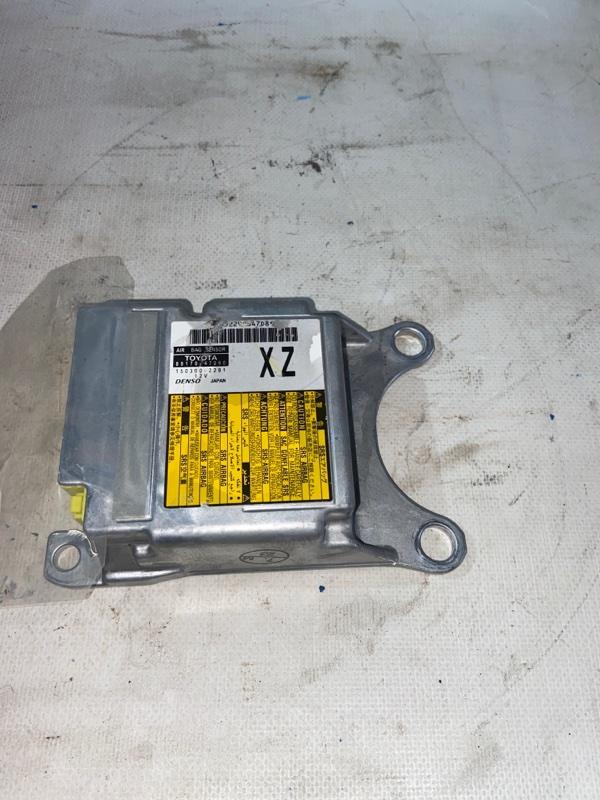 Блок управления airbag Toyota Prius ZVW30 2ZRFXE 2010.07 (б/у)