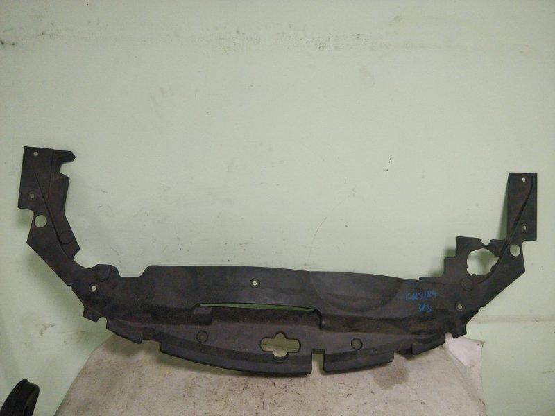 Защита замка капота Toyota Crown GRS184 2GR-FSE передняя (б/у)